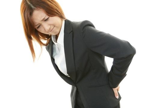 腰椎分離症による腰の痛み